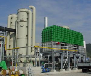 RTO - čistenie vzduchu spaľovaním
