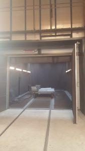 Tlakovzdušná tryskacia komora